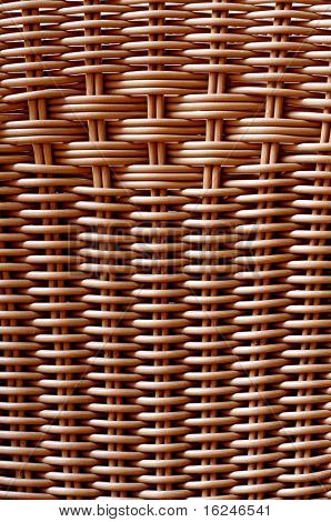 background made of a closeup of a wickerwork