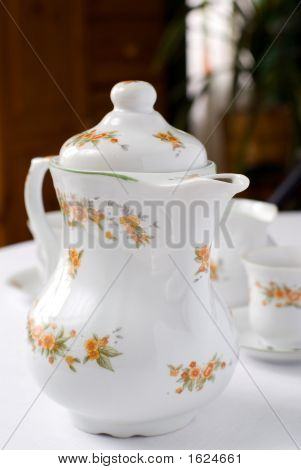 Tea Or Coffee Pot.