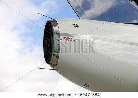 Exhaust Of Jet