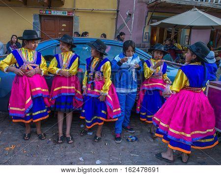 Kinds In Folk Costume