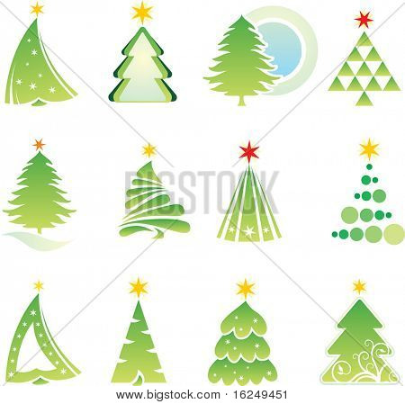 Christmas design elements. Vector version see in my portfolio