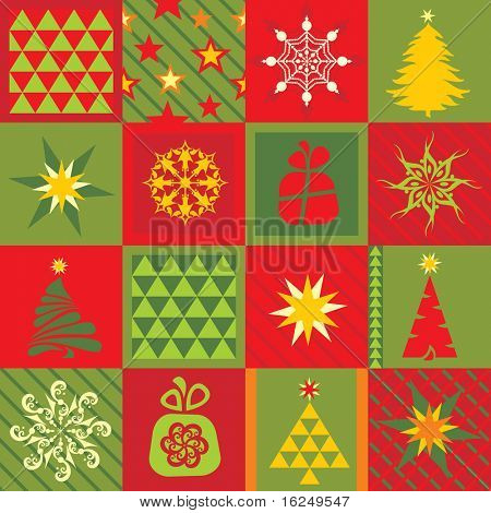 Seamless christmas background. Vector version see in my portfolio.
