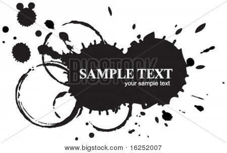 ink blot background