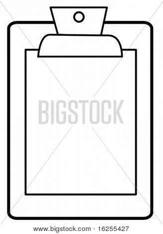 clipboard symbol
