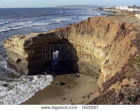 Natural Bridge_Sunset Cliffs