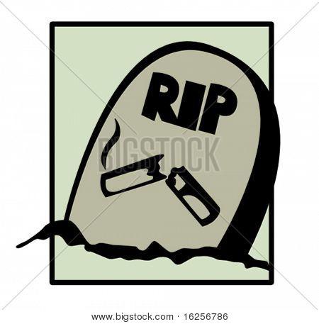 la tumba de fumar