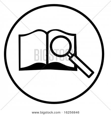 símbolo de la búsqueda