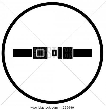 seat belt symbol