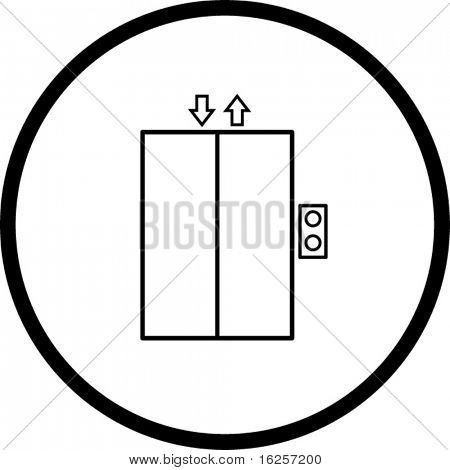 elevator symbol