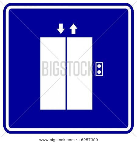 símbolo de ascensor