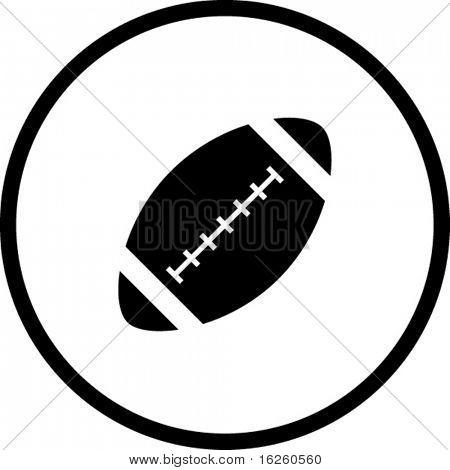 american football ball symbol