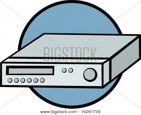 vhs cassette recorder