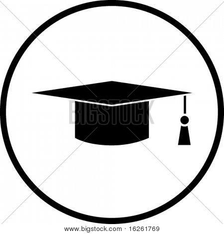 Abschluss-symbol