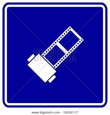 film roll sign