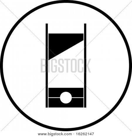 guillotine symbol