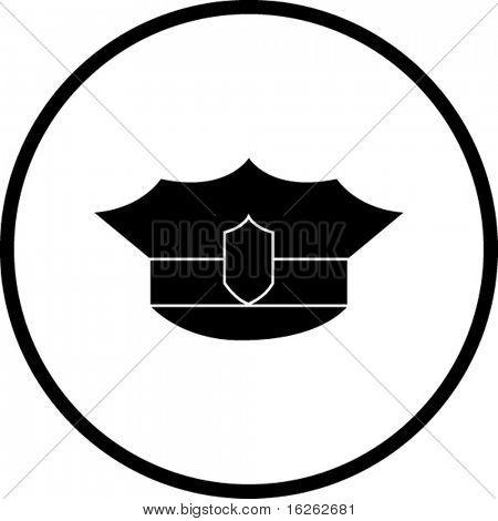 police hat symbol