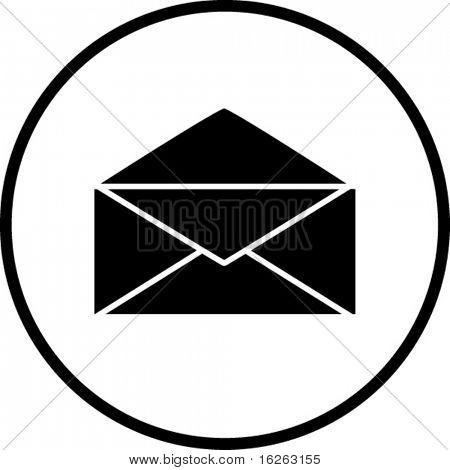 símbolo de correio