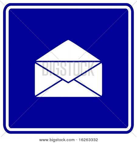 open mail sign
