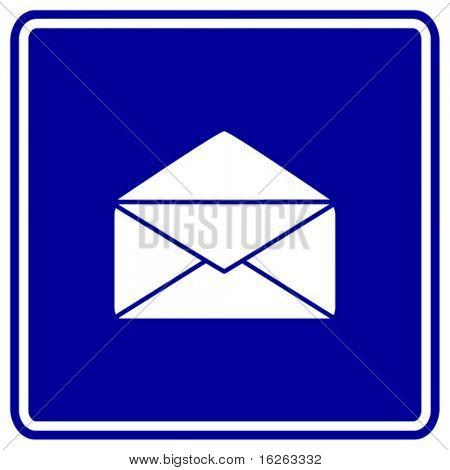 sinal aberto do correio