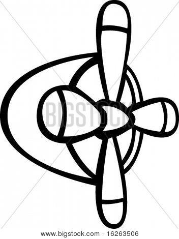 飞机发动机和螺旋桨 库存矢量图和库存照片 | bigstock