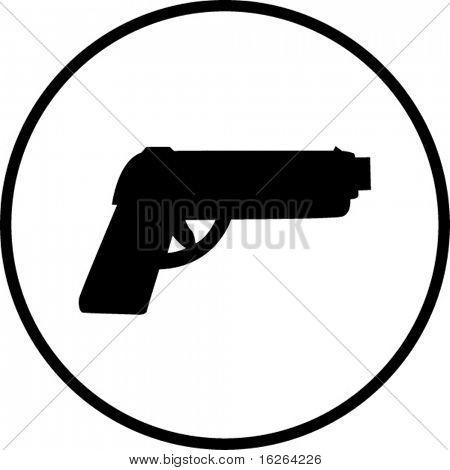 gun symbol