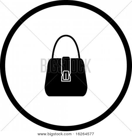 hand bag symbol