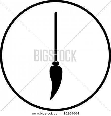 símbolo de la fregona