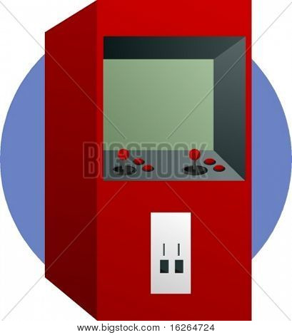 arcade videogame machine