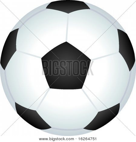 soccer or football ball