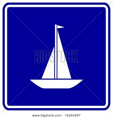 sailboat sign