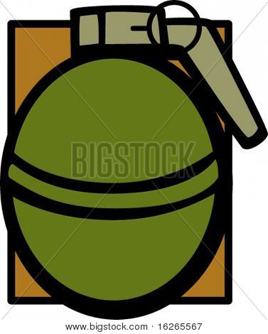 hand grenade explosive