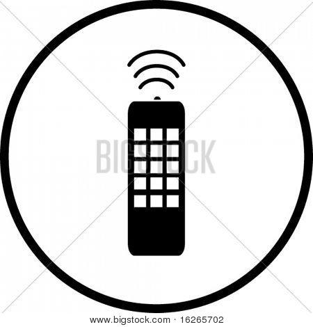 remote control symbol