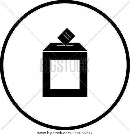 símbolo de la urna
