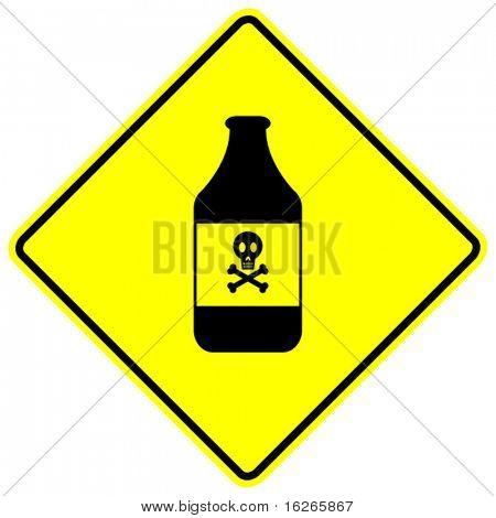 signo de veneno