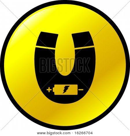 electromagnet button