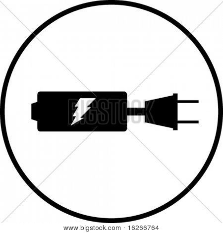 battery recharge symbol