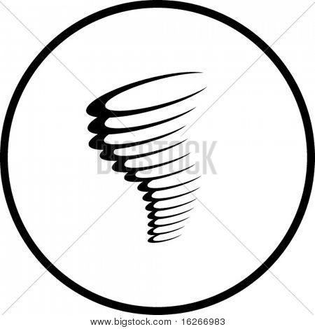 tornado or cyclone symbol