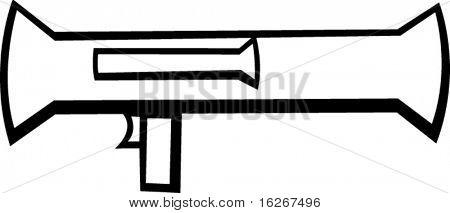 bazooka rocket launcher