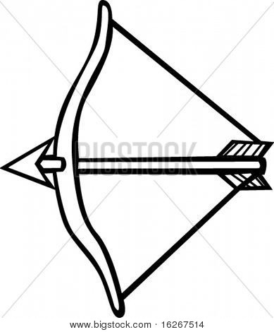 arrow and bow