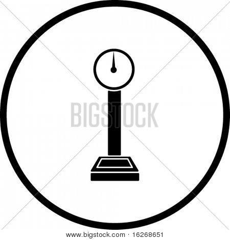 industrial weight scale symbol
