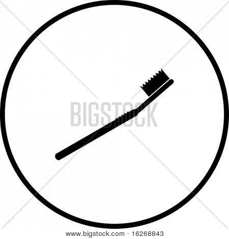 toothbrush symbol