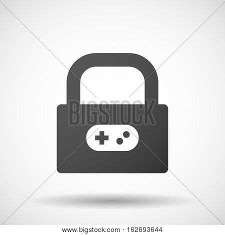 Isolated Lock Pad With A Game Pad