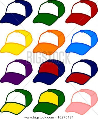 trucker cap in different colors