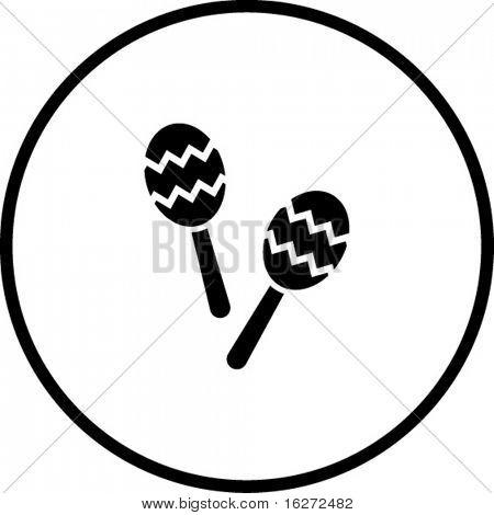 maracas symbol