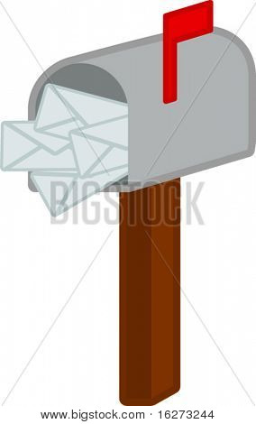 mail box filled with mails