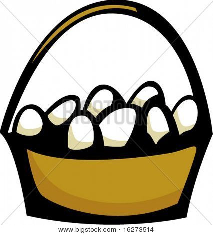 eggs in a basket