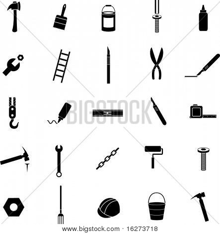 do it yourself icon set