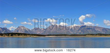 Grand Teton Panorama