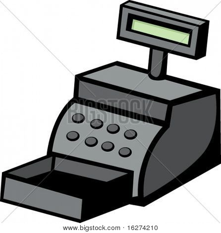 cash register machine