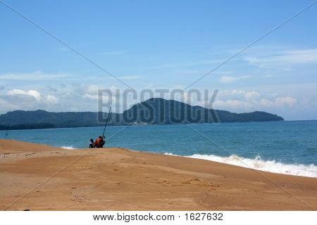 Fisherman And Coast